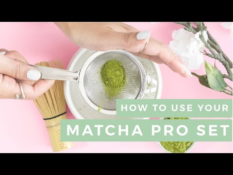 How to make a Matchami Latte!