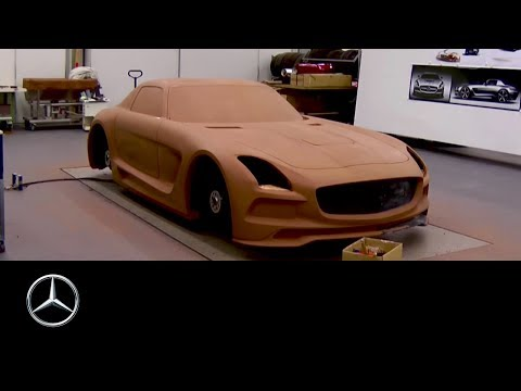 Mercedes-Benz SLS AMG Black Series: Clay Modeling Time Lapse
