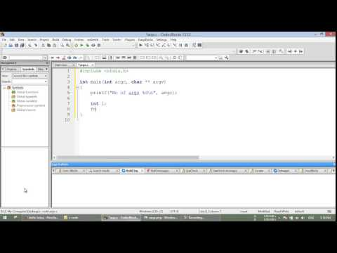 argc & argv - C/C++ Programming Video Tutorial in Bangla