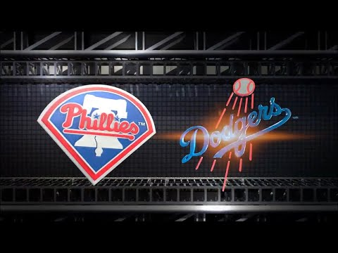 MLB The Show 18 (PS4) - Phillies vs Dodgers Game 2 (Full Broadcast Presentation)