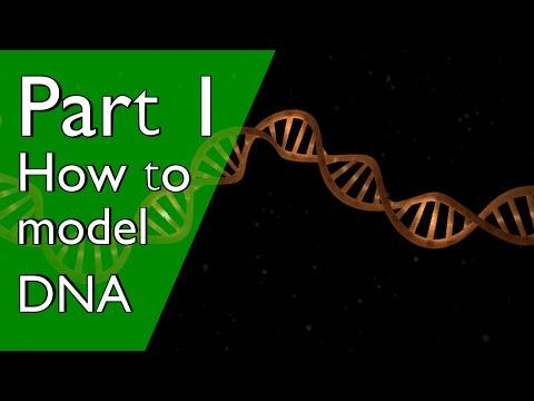 Part 1: How to make DNA in Blender