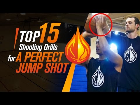 These 15 BASKETBALL SHOOTING DRILLS Will Give You A DEADLY Jump Shot