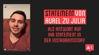 Aurel Statement Zu Julita | Instagram Story Aurel Fit | Klugscheissers