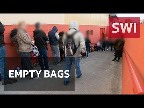 Increasing number of poor people in Geneva