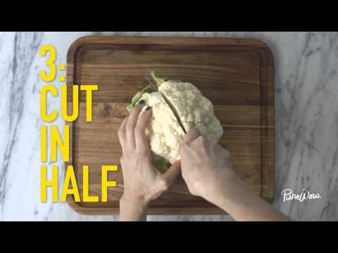How to Cut Cauliflower