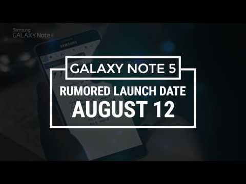All New Samsung Note 5 | Samsung Galaxy Note 5 Leaked Features