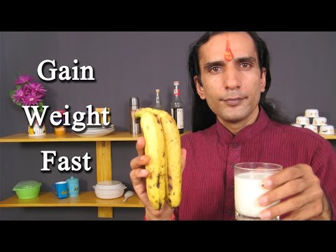 How To Gain Weight Fast - Ayurveda Herbs Natural Remedies To Gain Weight Fast By Sachin Goyal