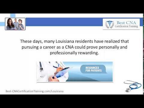 Top CNA Classes in Louisiana | LA CNA Colleges