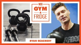 Ryan Seacrest Shows His Gym & Fridge   Gym and Fridge   Men's Health