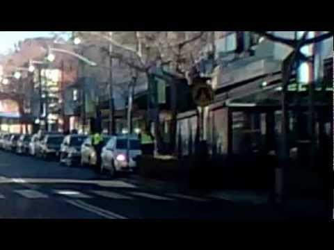 $232 traffic penalty fine for 5-10 seconds stopping at Macquarie St in Liverpool NSW
