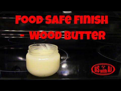 Food Safe Finish  -  Wood Butter