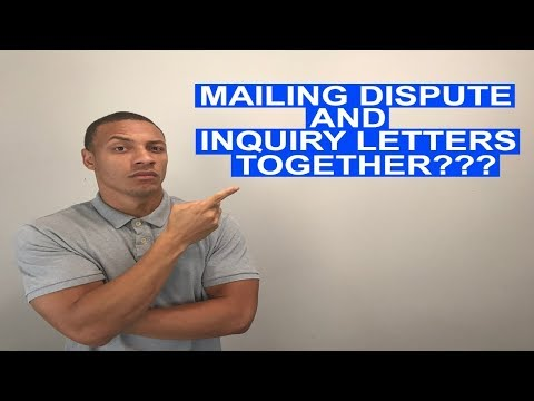 Do You Mail Hard Inquiry Letters With Dispute Letters? | Credit Healing Q&A |