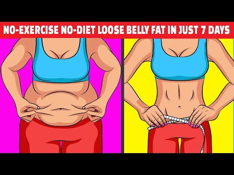 Only 2 Cups a Day for 1 Week for a Flat Stomach|NO-EXERCISE NO-DIET LOOSE BELLY FAT IN JUST 7 DAYS