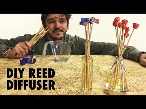 Reed Diffuser (Roses on sticks) - DIY