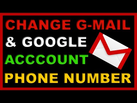How to Change & Add Mobile Phone Number of Gmail or Google Account ?
