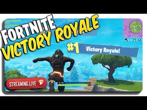 Fortnite LIVE 3 wins in a row, a bunch of 2nd Places, INTENSE LIVE SESH!
