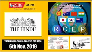 'The Hindu' Analysis for 6th Nov, 2019 (Current Affairs for UPSC/IAS)