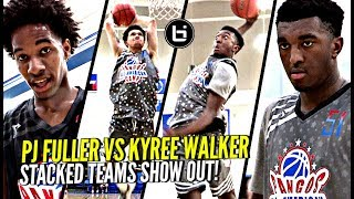 Kyree Walker vs PJ Fuller WAS TOO LIT!!! Stacked Teams DUNKING ON Each Other!!