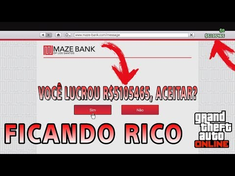 Aprenda a ficar rico sozinho com esses serviços da ROCKSTAR no GTA 5 ONLINE !!!