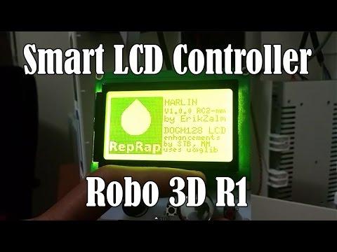 Expert Mods: Smart LCD Controller Robo 3D R1 - playithub com