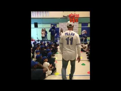 Toronto Blue Jays visit - St. Paul's Catholic school - June 7, 2018