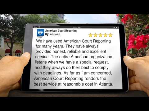 Atlanta Court Reporters - 404-892-1331 - Call Us Today