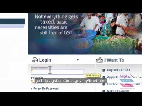 SQL Financial Accounting - Process GST 03 and Submit GST 03 TAP