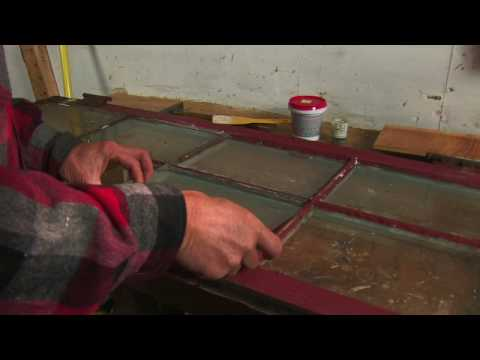 Carpentry & Home Improvement Skills : How to Fix Broken Glass in a Window