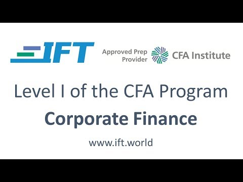 Level I CFA: CF R34 Corporate Governance and ESG-Lecture 2