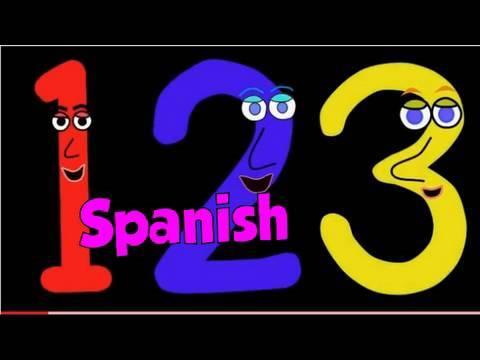 Numbers Song in Spanish. Cancion de los Numeros.