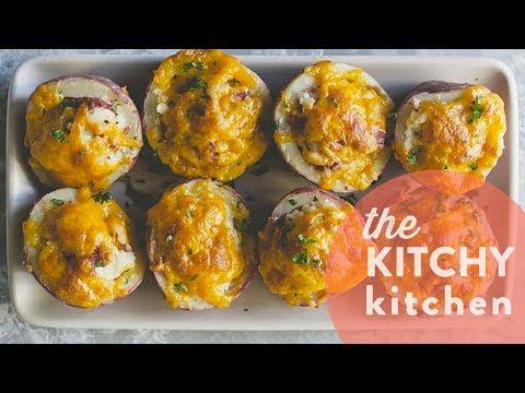 Potato Hash Bites // The Kitchy Kitchen