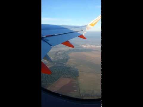 Taking off from PISA airport to PARIS