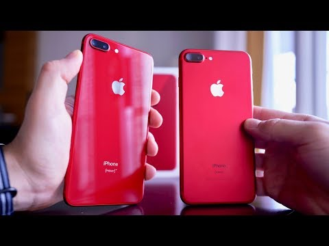 Product RED iPhone 8 Unboxing & RED 7 Comparison!