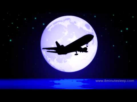 JETLINER NIGHT FLIGHT   Celestial Fans Check This Out!   White Noise For Sleep