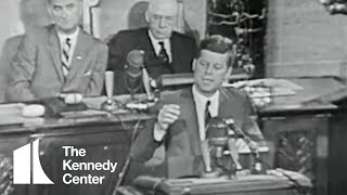 Download President John F. Kennedy Speech to Congress On Space Exploration Video