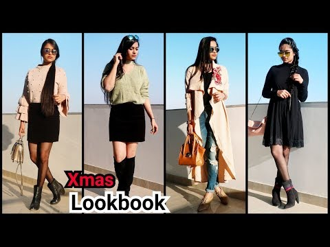 Winter Lookbook// Shein Haul for winters //Hairstyle Diaries
