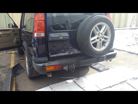 Land Rover Discovery II Rear Bumper Removal