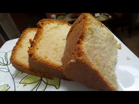 7 up Cream Cheese Pound Cake