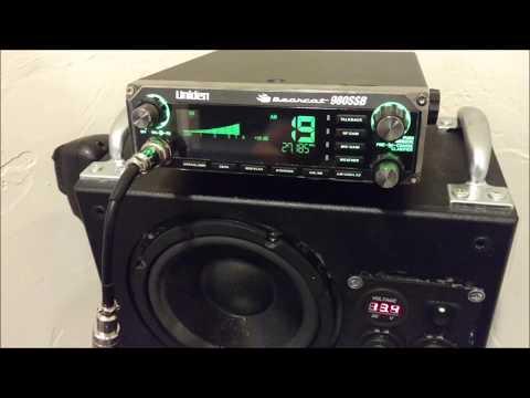 DIY CB radio base station speaker battery box