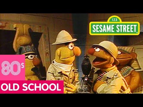 Sesame Street: Bert and Ernie in a Pyramid