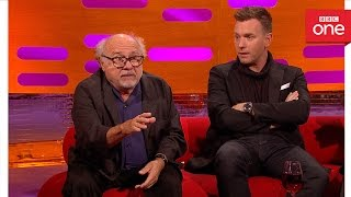 Danny Devito Was Attacked By A Monkey The Graham Norton Show 2016 Ext