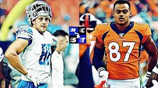 Who's Better: TJ Hockenson or Noah Fant?