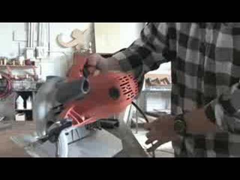 Using a Circular Saw : Circular Saw Angle Cuts