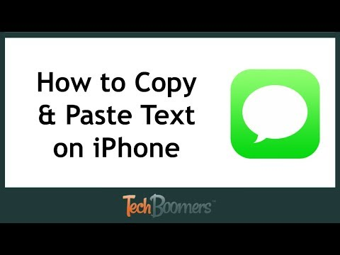 How to Copy and Paste Text on iPhone