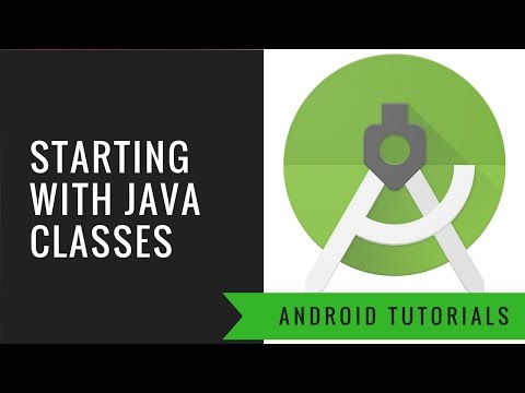 Android App Tutorial 5 (Hindi)  : Starting with java class