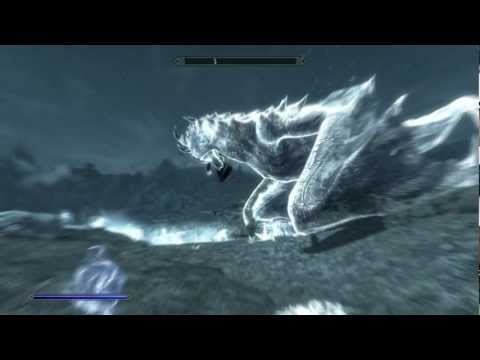 Skyrim: Anti-gravity Dragon