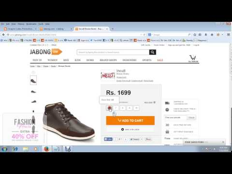 Jabong Coupons - How to Get flat 45% off