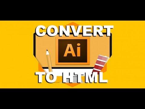 Convert Illustrator AI to HTML and CSS | Creative Cloud Plugin