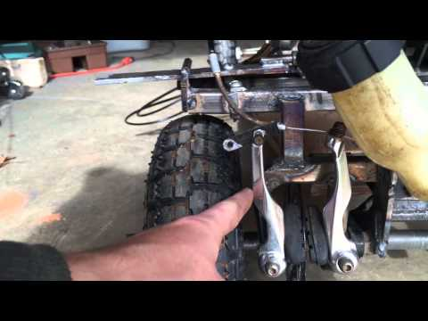 homemade motorized mountain board part2