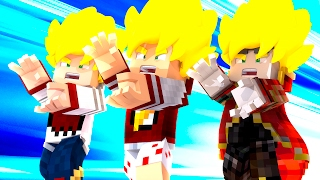 Minecraft: QUEM SERA SAYAJIN? - DRAGON BLOCK C ‹ AMENIC ›